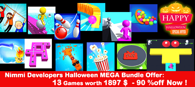 Nimmi Developers Halloween MEGA Bundle Offer: 13 Games -90% OFF NOW!