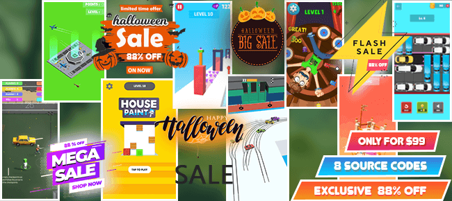 MicroSpider Studios Halloween Mega Bundle Offer: Top 8 Games -88% OFF NOW!