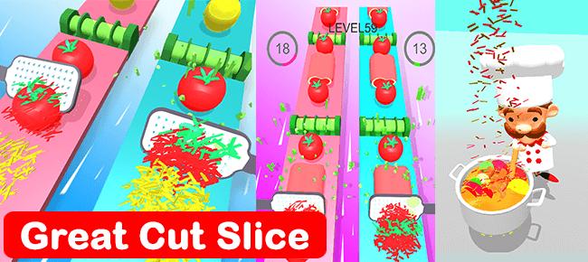 Grate Cut Slice