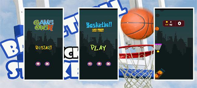Basketball lucky strikes
