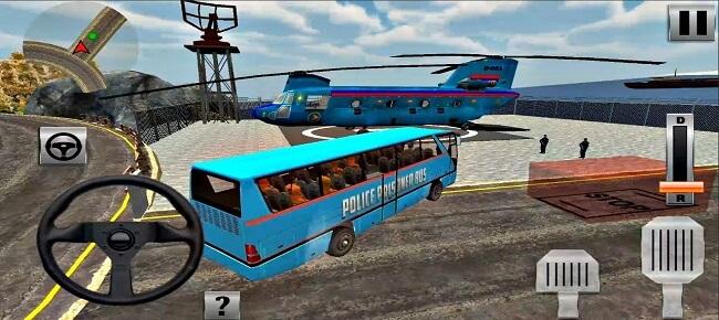 Offroad US Police Prison Transport : Police Car Prisoner Transport