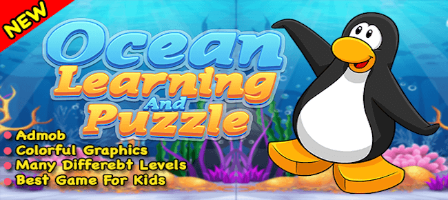 Ocean Learning With Match Pair Puzzle + For Android