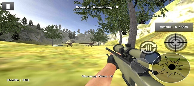 Sniper Shooter Dino Hunter : Dino Safari Hunt