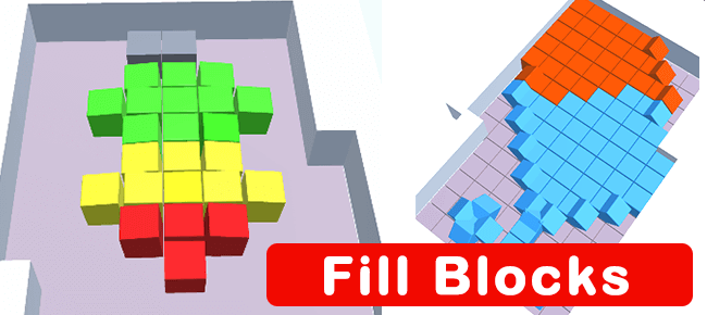 Fill cubes – Trending Hyper Casual Game