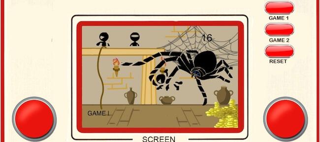 Retro Spider