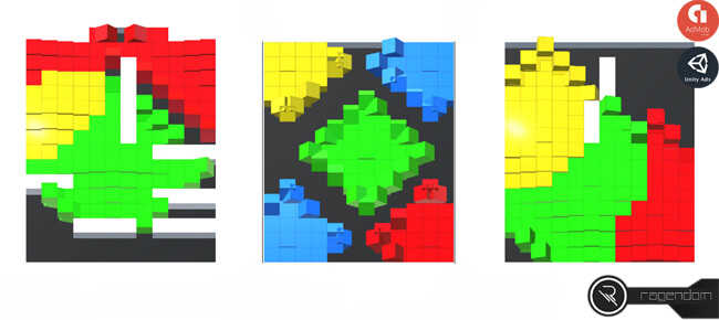 Block Run – Complete Unity Game