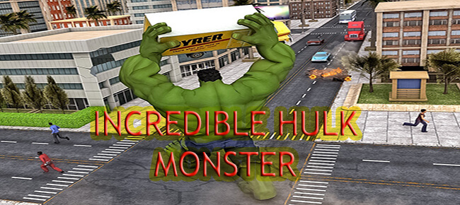 Incredible Hulk (Super Hero) : Fight In City (64-Bit) – Exclusive Sellmyapp Offer!