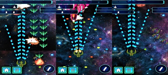 Galaxy Wars : Battle Space Ship 64 Bit