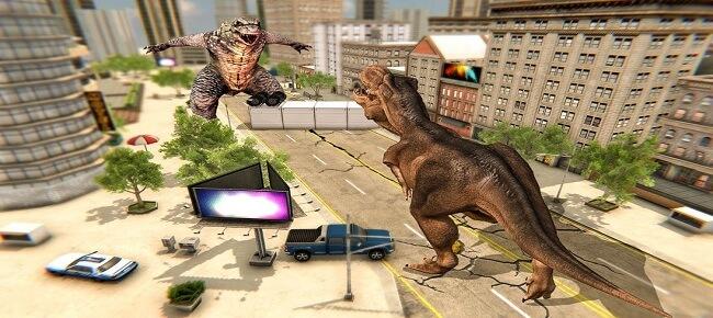 64-Bit Endless Dinosaur Rampage – Monster City Attack Survival