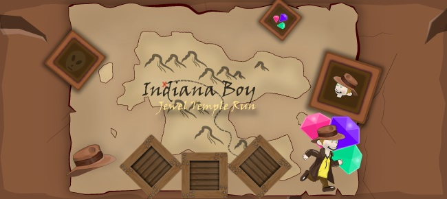 Indiana Boy Runner Game – Unity Complete Project