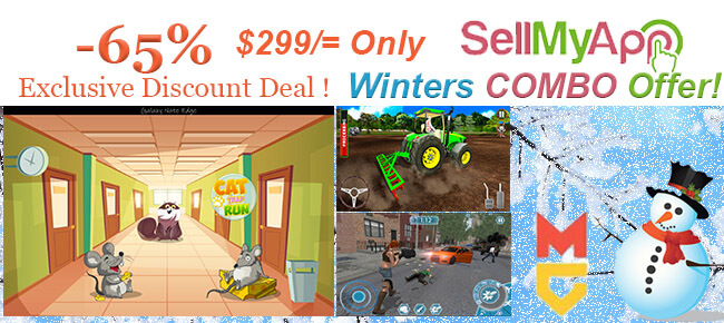 Winter Special COMBO Offer: 3 Premium Quality Game Templates -65% OFF NOW!