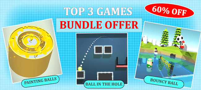 99 Dollar Games COMBO Offer: 3 Hyper Casual Games worth $217 USD -60% OFF!