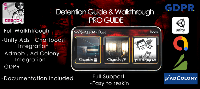 Detention Guide and Walkhtrough for Horror Game Guide