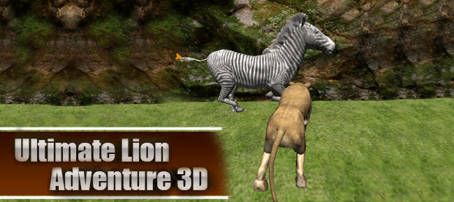 Lion Attack Simulator – RPG 3D Unity Template 64 Bit