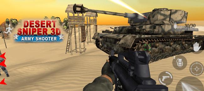 Desert Sniper Special Forces 3D Shooter FPS Game 64bit