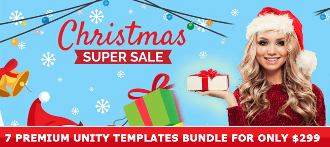 Christmas Super Sale Bundle of 7 Premium 64 Bit Templates – 86% OFF!