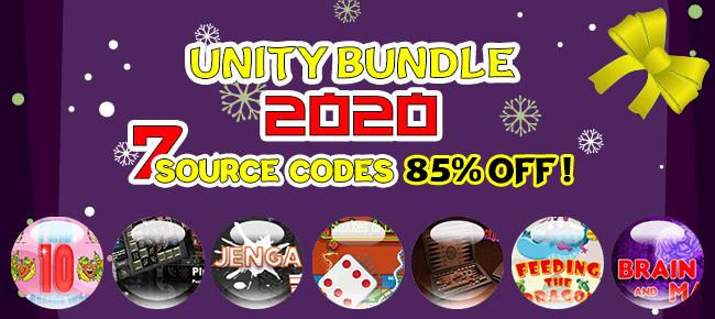 DigiSmile Ltd New Year 2020 Unity Bundle: 7 Source Codes – 85% OFF NOW!