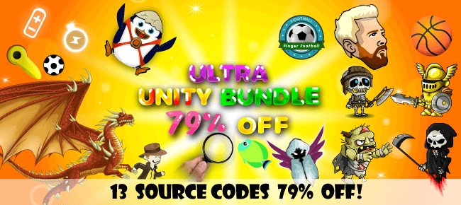 NorthernMob New Year 2020 Unity Bundle: 13 Source Codes – 79% OFF NOW!