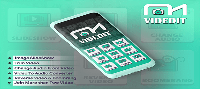 VidEdit – Photo to Video with Music Android App