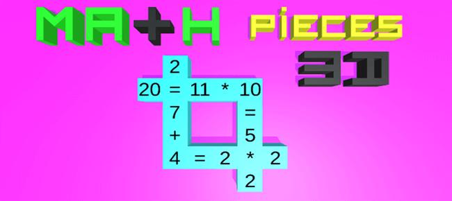 Math Pieces 3D