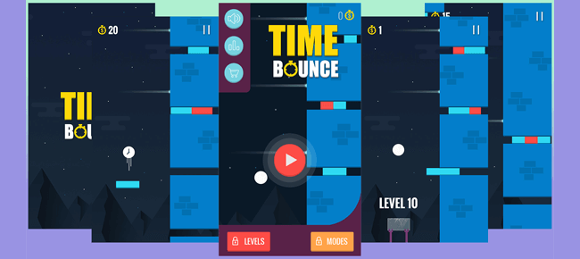Time Bounce – Buildbox Template
