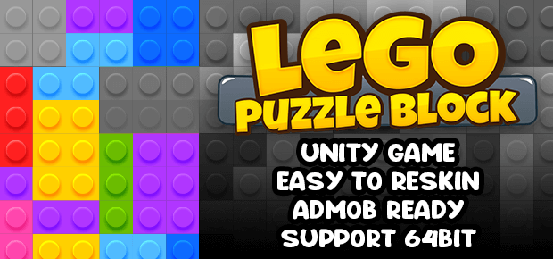 Lego Puzzle Block Game Unity Template