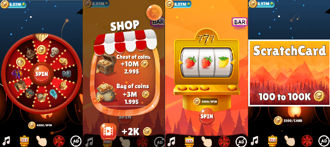 Lucky Money – Casino type Unity game