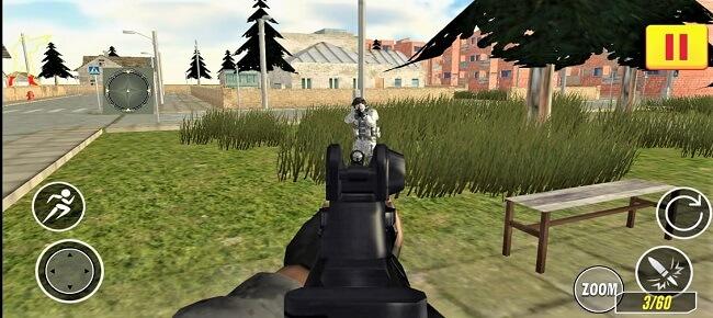 Elite Commando City War Shooting 64 Bit Source Code