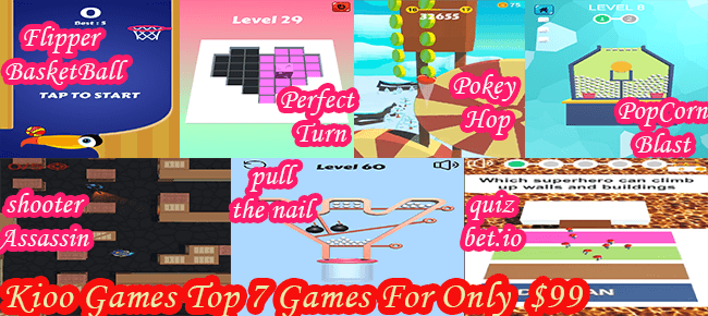 Kioo Games Bundle: 7 Premium Quality Games worth $533 USD -81% OFF NOW!