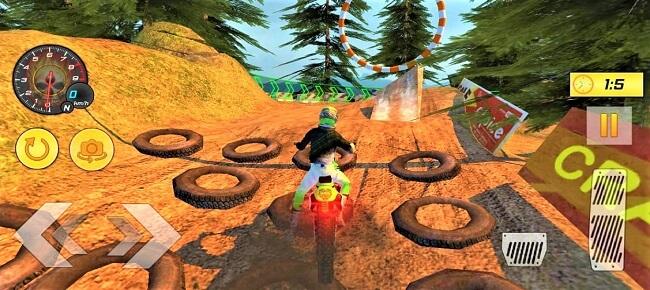 Offroad Moto Bike Hill Rider Racing 64 Bit Source Code