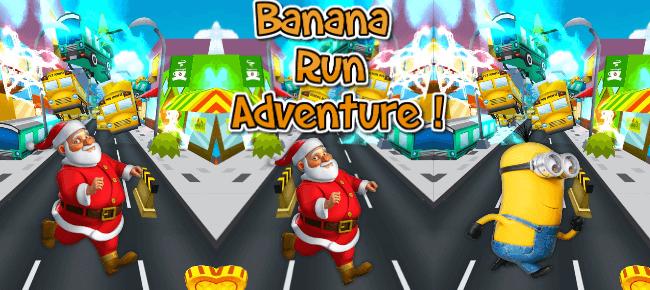Banana Minion Rush 3D