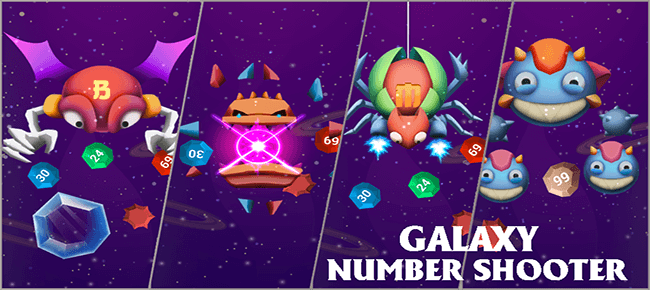 Galaxy Space Number Shooter – FULL Source