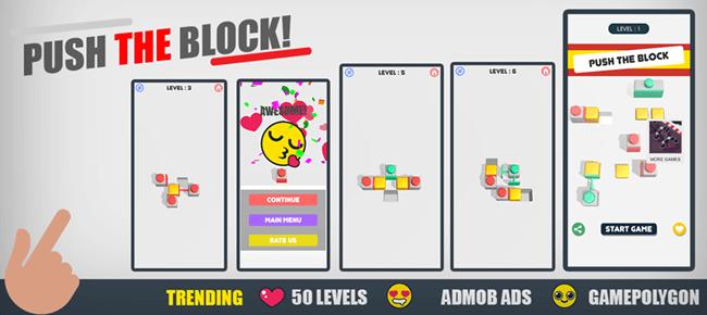 PUSH THE BLOCK | TRENDING GAME