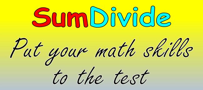 SumDivide-math puzzle game (Cross-platform)