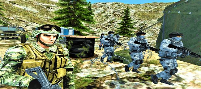 Commando FPS Shooting Game 64 Bit Source Code