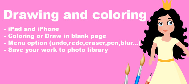 Drawing and coloring Colorbook for kids