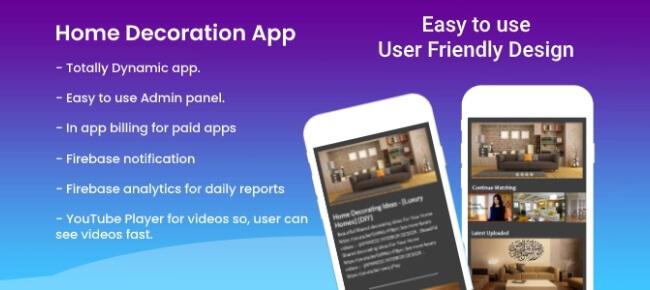 Home Decoration ideas app ASTechnolabs