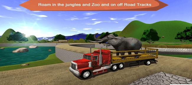 Offroad Animal Truck Transport Driving Simulator 2020