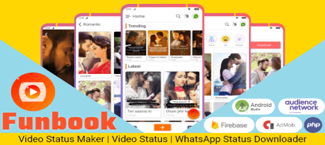 Video Status Maker – Video Status Downloader and Saver with Admin Panel