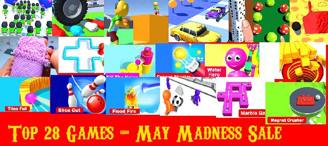 Nimmi Developers May Madness Mega Bundle Offer #2: Top 28 Games -92% OFF!