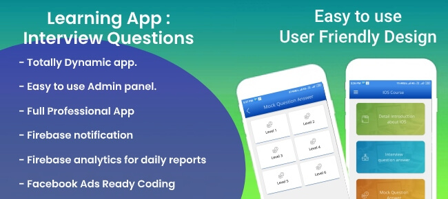 Learning App : Introductions and Questions Answers