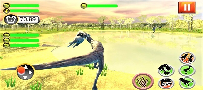Primal Dinosaur Simulator : Wild Deadly Jungle Dino 64 Bit