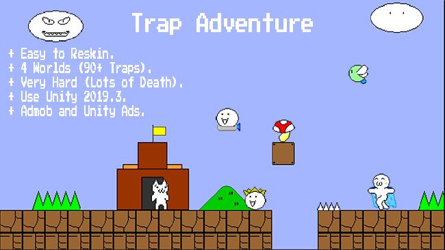 Trap Adventure (90+ Traps) – Unity Game Template