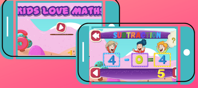 Kids Love Math – Kids Learning App Integrated with AdMob