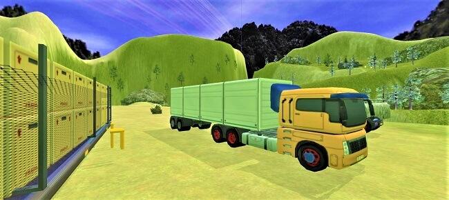 Truck Driving Uphill Mountain : Offroad Cargo Trailer 64 Bit Source Code