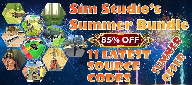 Sim Studio's Summer Mega Bundle Offer: 11 Latest Source Codes -85% OFF!