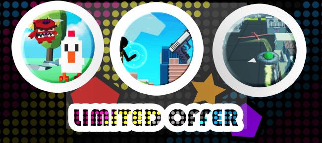 Summer Mega COMBO Offer: 3 Top Tending Games -45% OFF NOW!