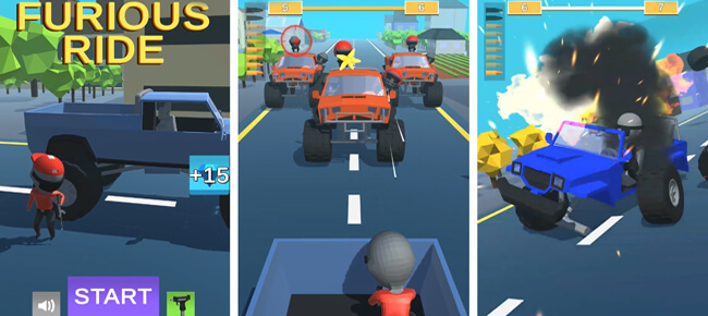Furious Ride – Complete Unity Game