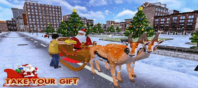 Christmas Santa Rush Gift Delivery- New Game 2019