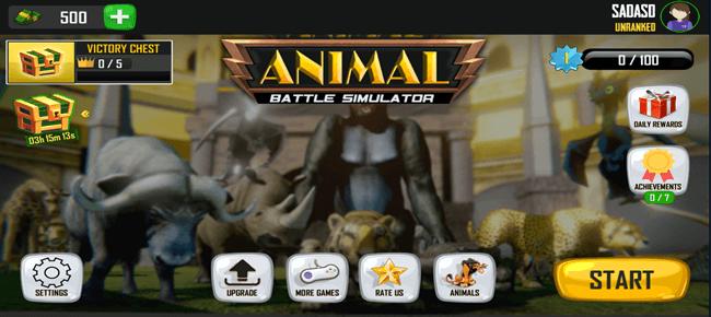 Animal Battle Simulator : Animal Battle Games 2020